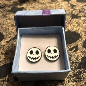 Jack Skellington earrings